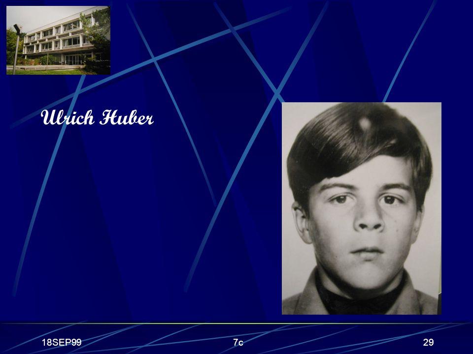 18SEP997c29 Ulrich Huber
