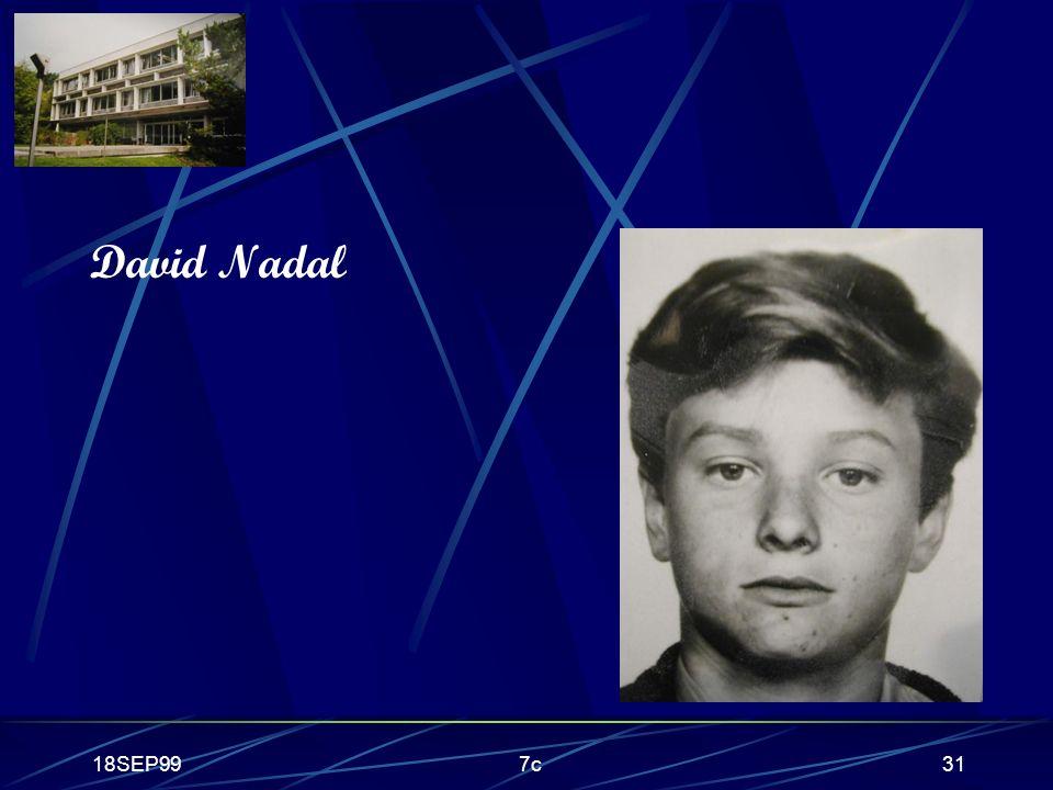 18SEP997c31 David Nadal
