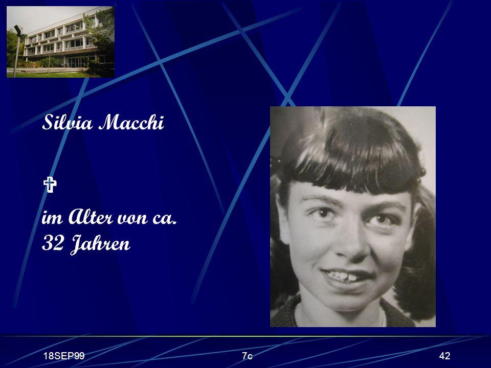18SEP997c42 Silvia Macchi im Alter von ca. 32 Jahren