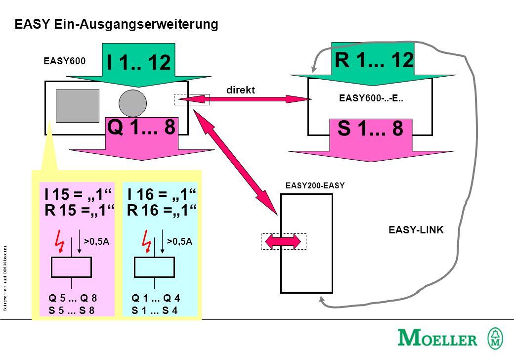 Schutzvermerk nach DIN 34 beachten Lösung Treppenhauslicht Teil1