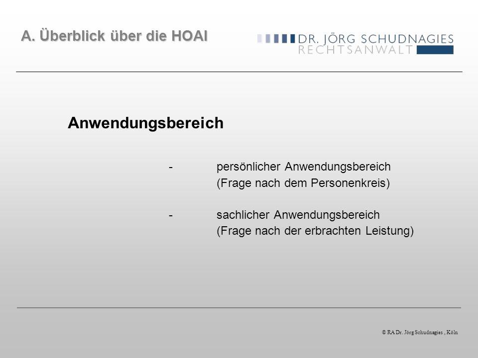 Fallbeispiel Im Zuge eines Architektenvertrages setzen die Parteien anrechenbare Kosten für die Honorarermittlung in Höhe von EUR 500.000,00 fest.