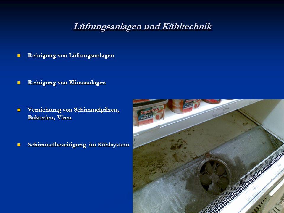 Lüftungsanlagen und Kühltechnik Reinigung von Lüftungsanlagen Reinigung von Lüftungsanlagen Reinigung von Klimaanlagen Reinigung von Klimaanlagen Vern