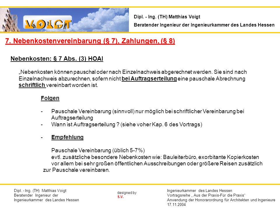 designed by S.V.Nebenkosten: § 7 Abs.