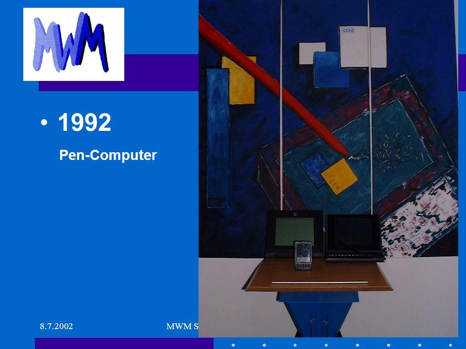 8.7.2002MWM Software & Beratung GmbH10 Was sonst noch war.