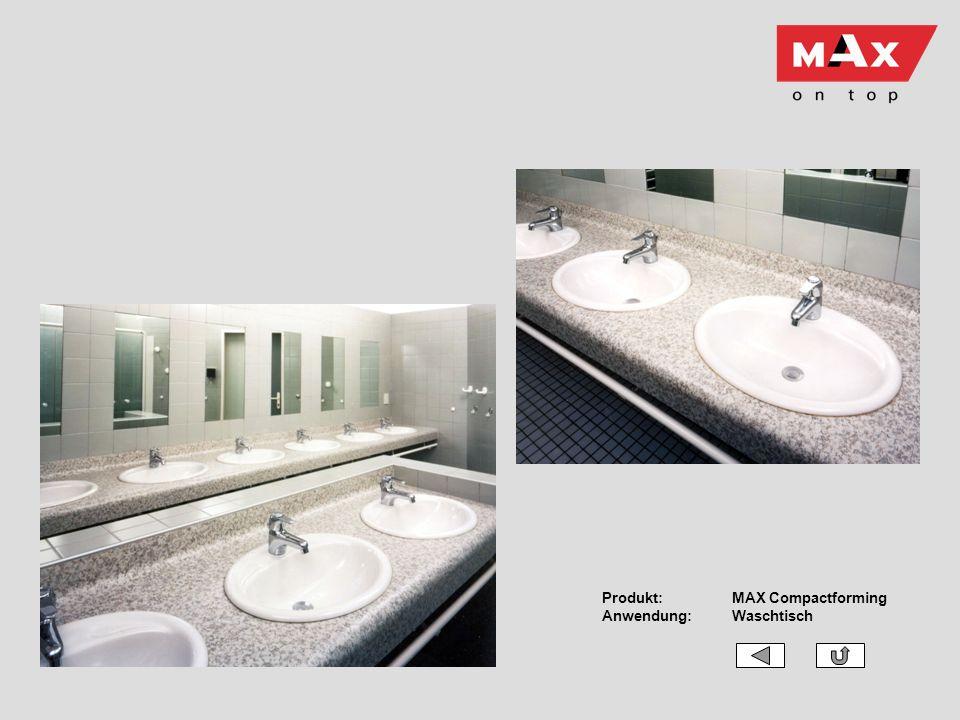 Produkt:MAX Compactforming Anwendung:Waschtisch