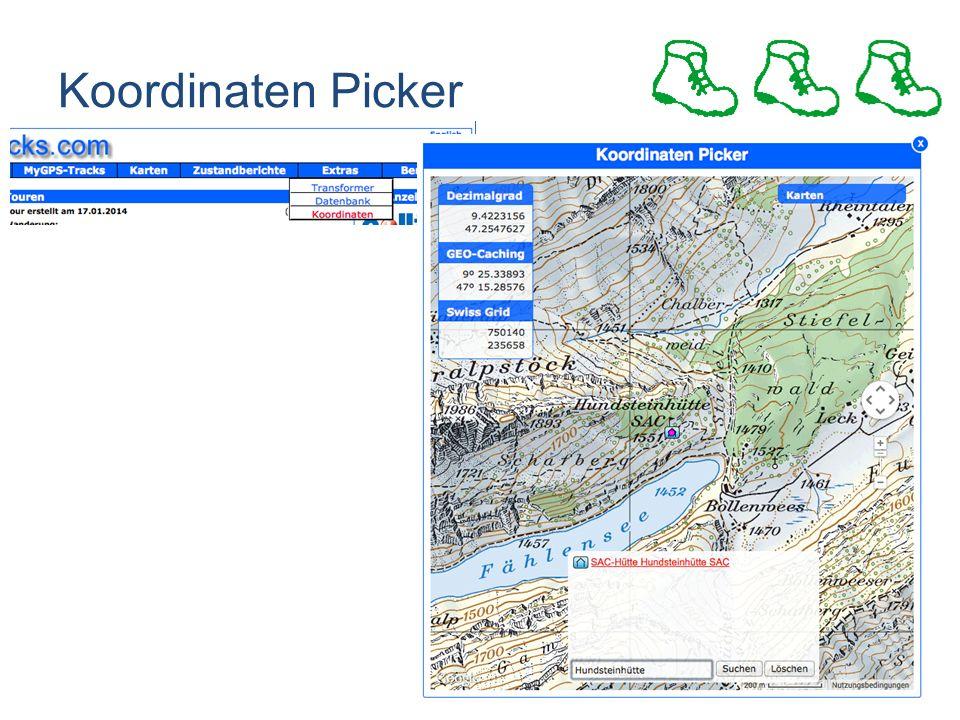 Koordinaten Picker