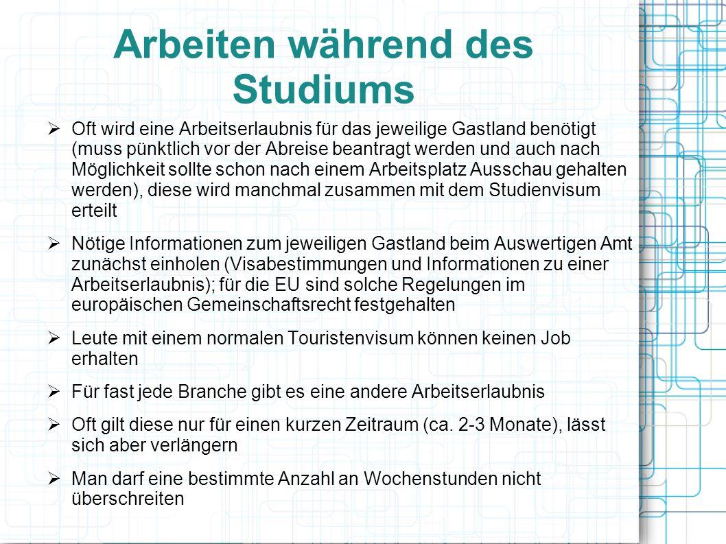 Quellen http://www.studis-online.de/Studieren/Auslandsstudium/ http://www.uni-mainz.de/studium/3923_DEU_HTML.php http://www.auslandsstudium.net/themen/finanzierung/job.html http://www.studentenwerke.de/main/default.asp?id=06503 www.daad.de/ausland/studienmoeglichkeiten/laenderinformationen- und-studienbedingungen/00639.de.html http://www.magoo- international.com/auslandsstudium/allgemeines/studiengaenge.html http://tu- dresden.de/die_tu_dresden/fakultaeten/fakultaet_forst_geo_und_hyd rowissenschaften/fachrichtung_wasserwesen/studium/studieren_im_ ausland/index_html