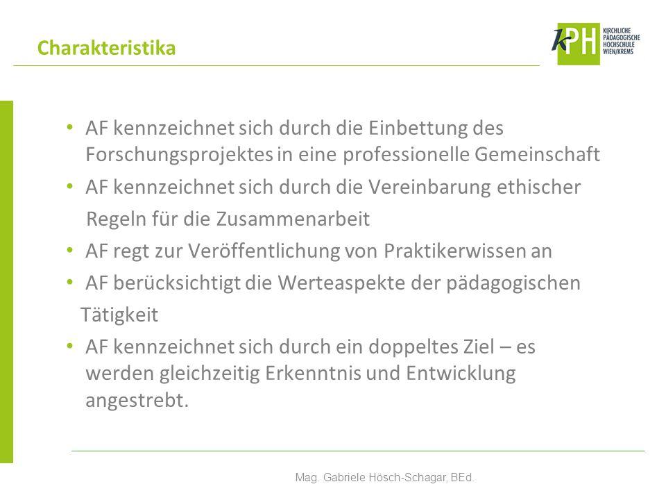 Formulierung von Qualitätsstandards Mag.Gabriele Hösch-Schagar, BEd.