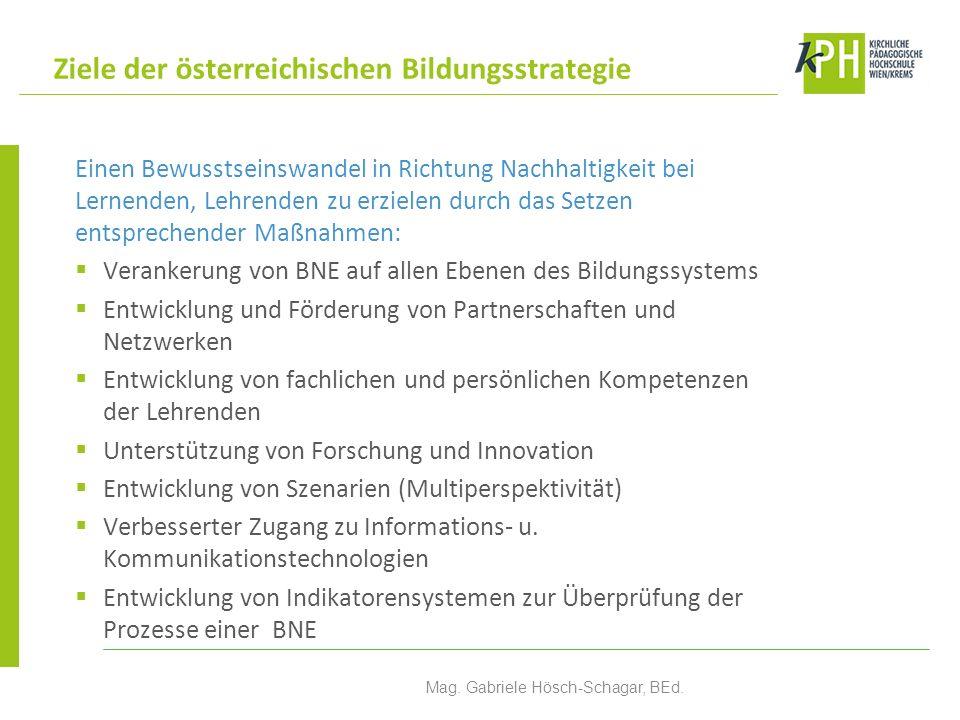 ÖKOLOG-Schulen Umweltzeichen-Schulen UNESCO-Schulen Klimabündnis Schulen Global Action Schools Gesunde Schule PILGRIM-Schulen Schulische Netzwerke in Österreich Mag.