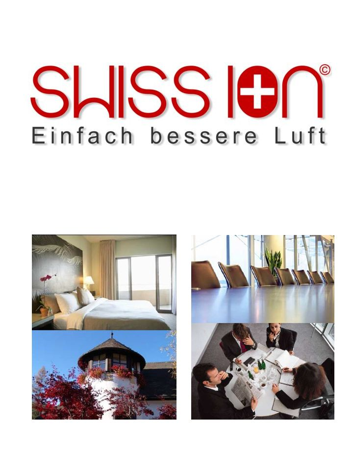 Swiss Ion Heute Die SWISSION feiert ihren NEUSTART Mit der Übernahme, mit dem revolutionären Ionisierungsgerät feiert die SWISS ION ihren NEUSTART ab dem 01.März 2014.