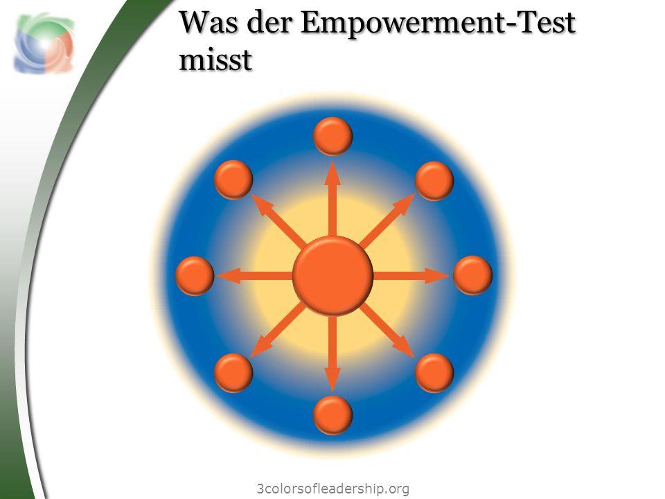 3colorsofleadership.org Was der Empowerment-Test misst