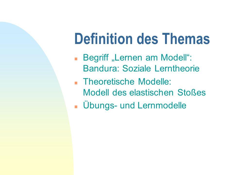 Lernen am Modell Universität Innsbruck Seminar für Rechtstheorie und Rechtsinformatik 26.11.1999 Thomas Höpfel