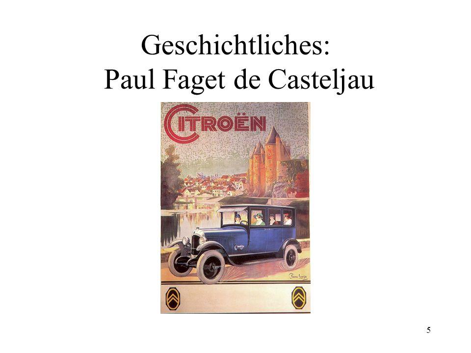 5 Geschichtliches: Paul Faget de Casteljau