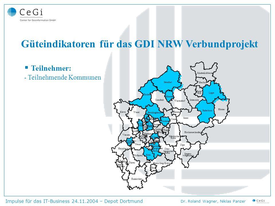 Impulse für das IT-Business 24.11.2004 – Depot Dortmund Dr.