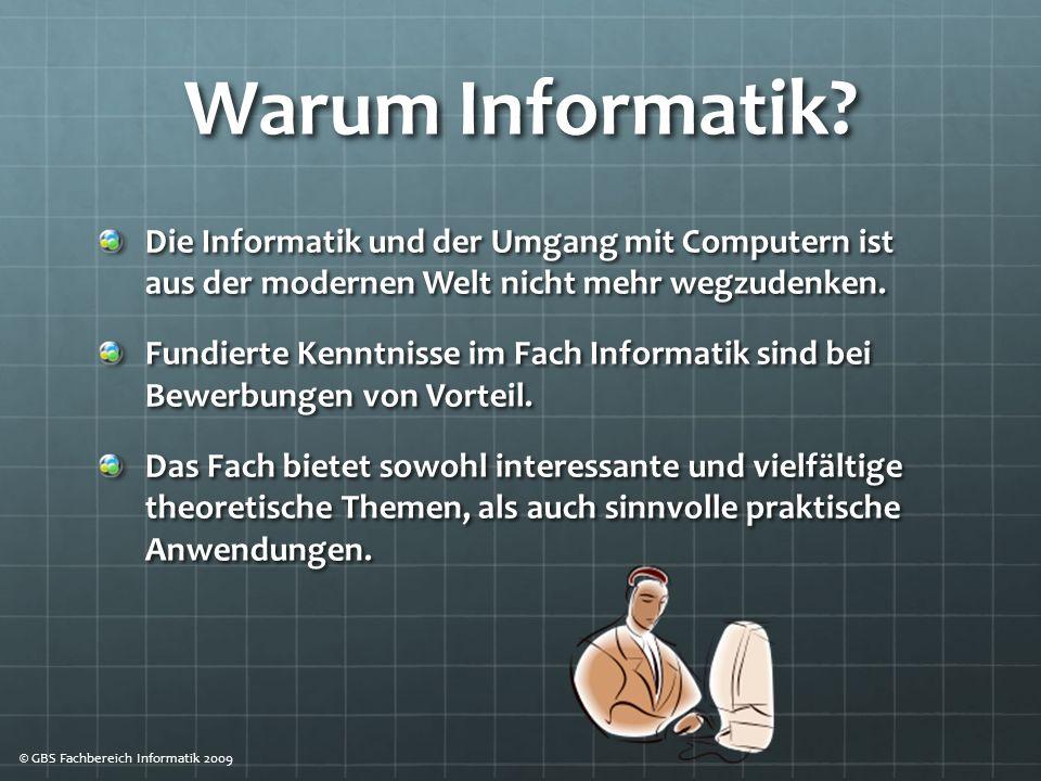 Warum Informatik.
