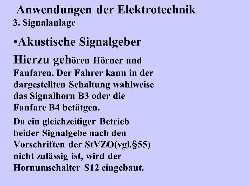 Akustische Signalgeber Hierzu geh ören Hörner und Fanfaren.