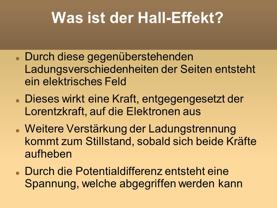 Was ist der Hall-Effekt.