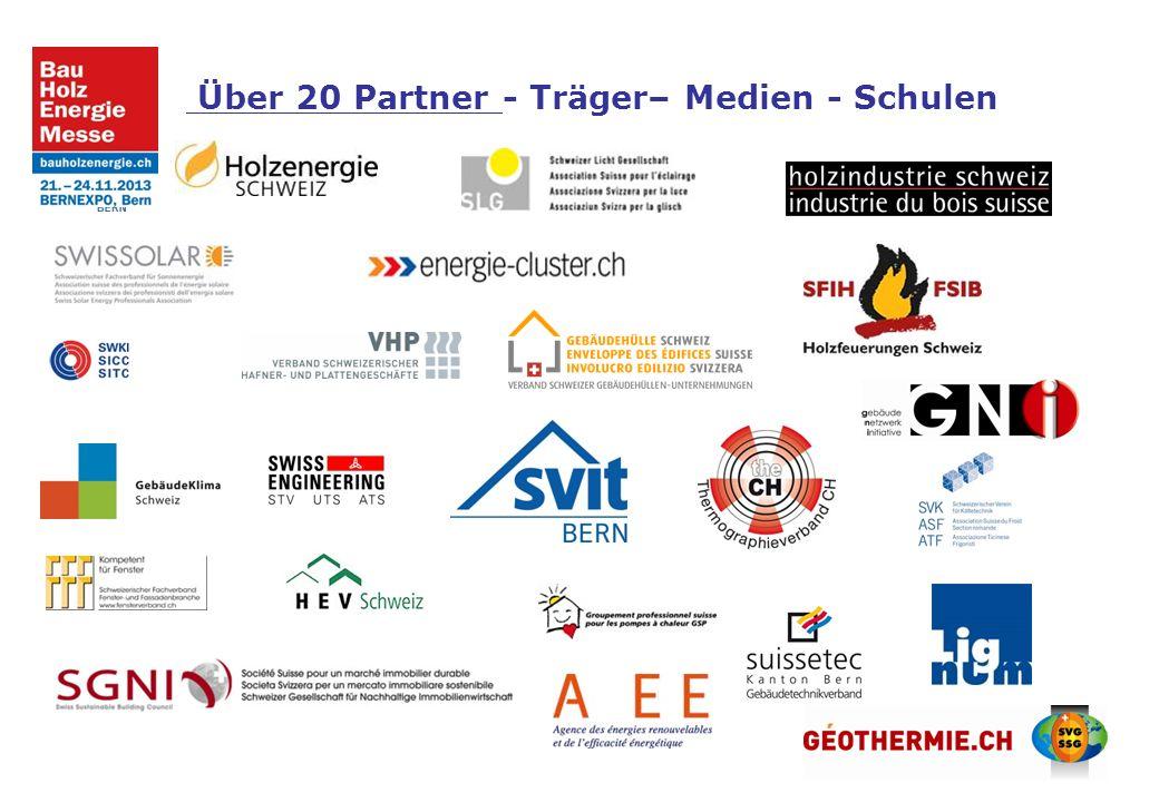 Über 20 Partner - Träger– Medien - Schulen