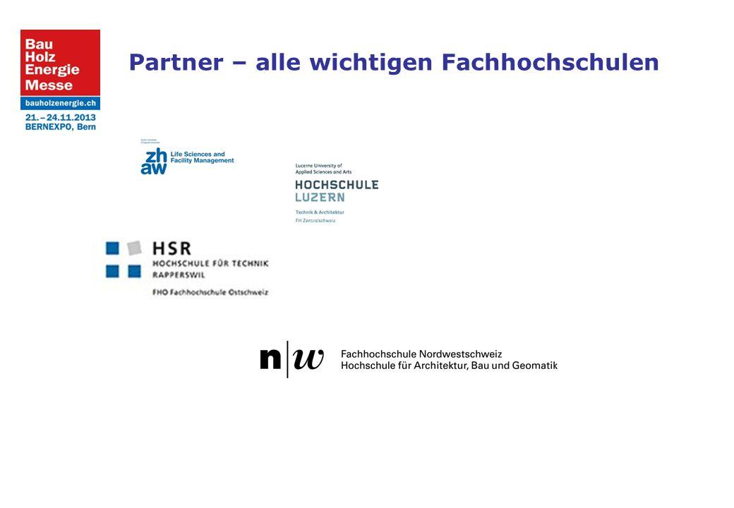 Partner – alle wichtigen Fachhochschulen