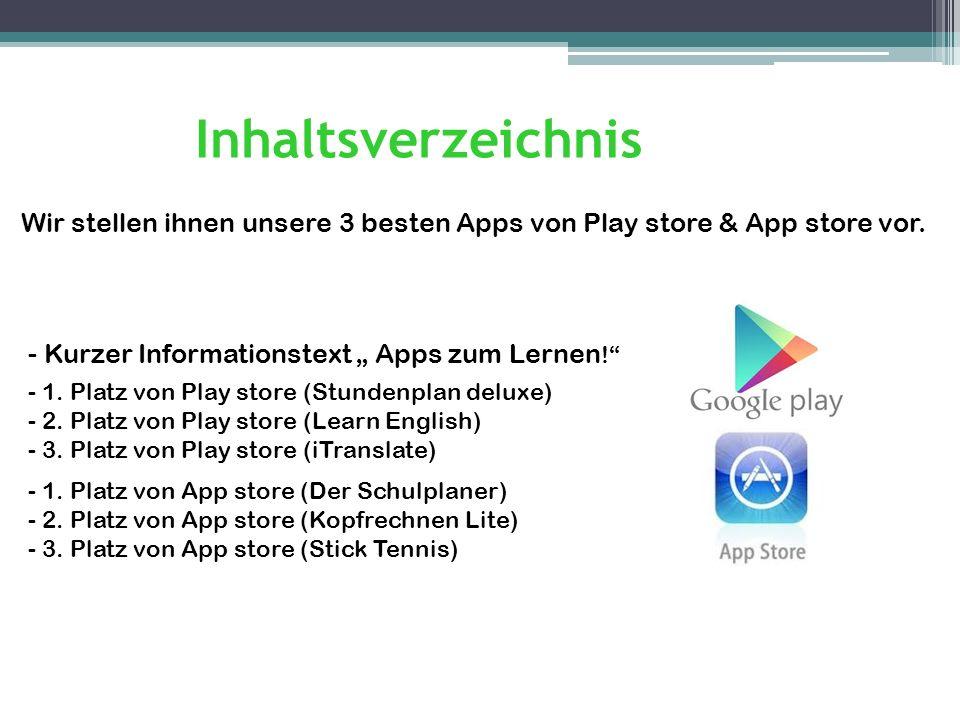 Apps zum Lernen.Miniprogramme für Smartphones boomen.