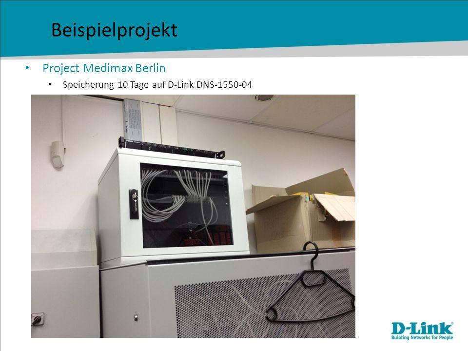 Das Videoüberwachungssortiment von D-Link Kameras Netzwerk & Storage Rekorder & Software in allen Bauformen PoE- und WLAN-Modelle Auflösungen von VGA bis fünf Megapixel jede Kamera mit SD- Kartenslot ausgestattet Modelle mit P-Iris für überragende Tiefenschärfe zahlreiche Kameras mit sehr guter Nachtperformance, wetterfestem Gehäuse und integrierten IR-LED kostenlose, völlig lizenzkostenfreie Videomanagementsoftware für bis zu 32 Kameras kompakte, leicht bedienbare Rekorder für bis zu 6 TB Aufzeichnungsspeicher Rekorder mit integriertem PoE-Switch, mit bis zu 12 TB Aufzeichnungsspeicher und Plug&Play für alle D-Link- Netzwerkkameras umfangreiche, lückenlose Auswahl vom Marktführer bei Unmanaged Switches, SmartSwitches und Managed- Switches Storagelösungen auch für außerst lange Aufzeichnungszeiten Professionelle, verwaltbare Wifi-Lösungen für hohen Bandbreitenbedarf der Videoüberwachung
