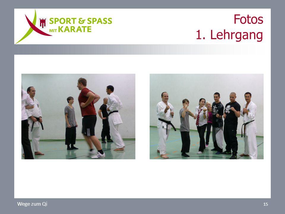 Fotos 1. Lehrgang Wege zum Qi 15