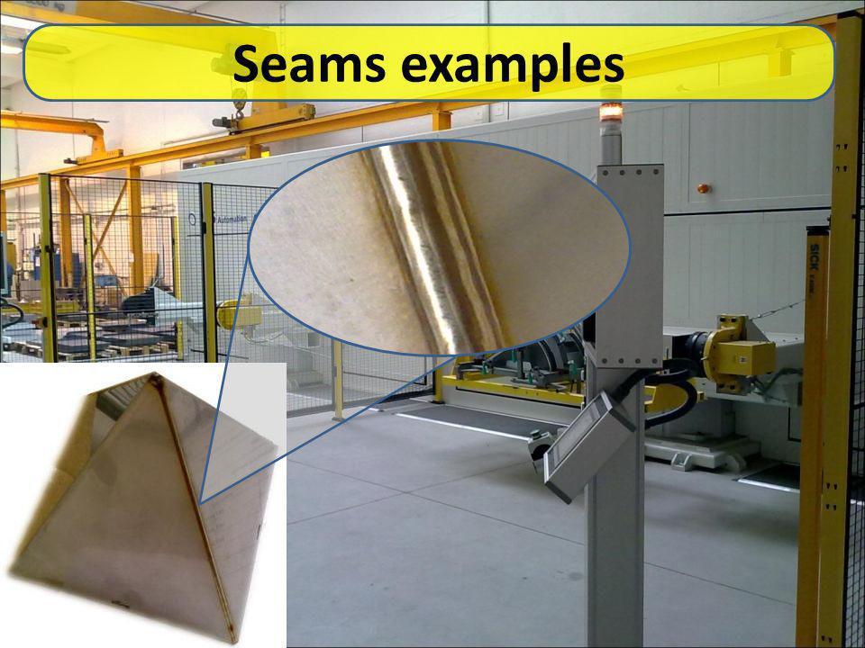 Seams examples