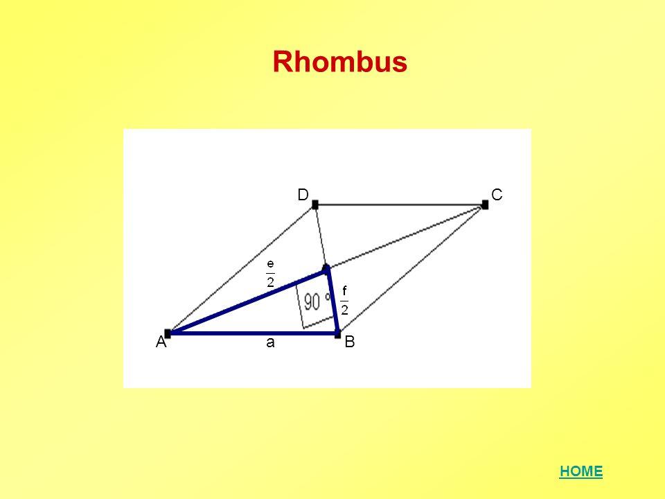 HOME Parallelogramm Überlege, wo rechtwinkelige Dreiecke entstehen und wie dort der Satz von Pythagoras angewendet werden kann!