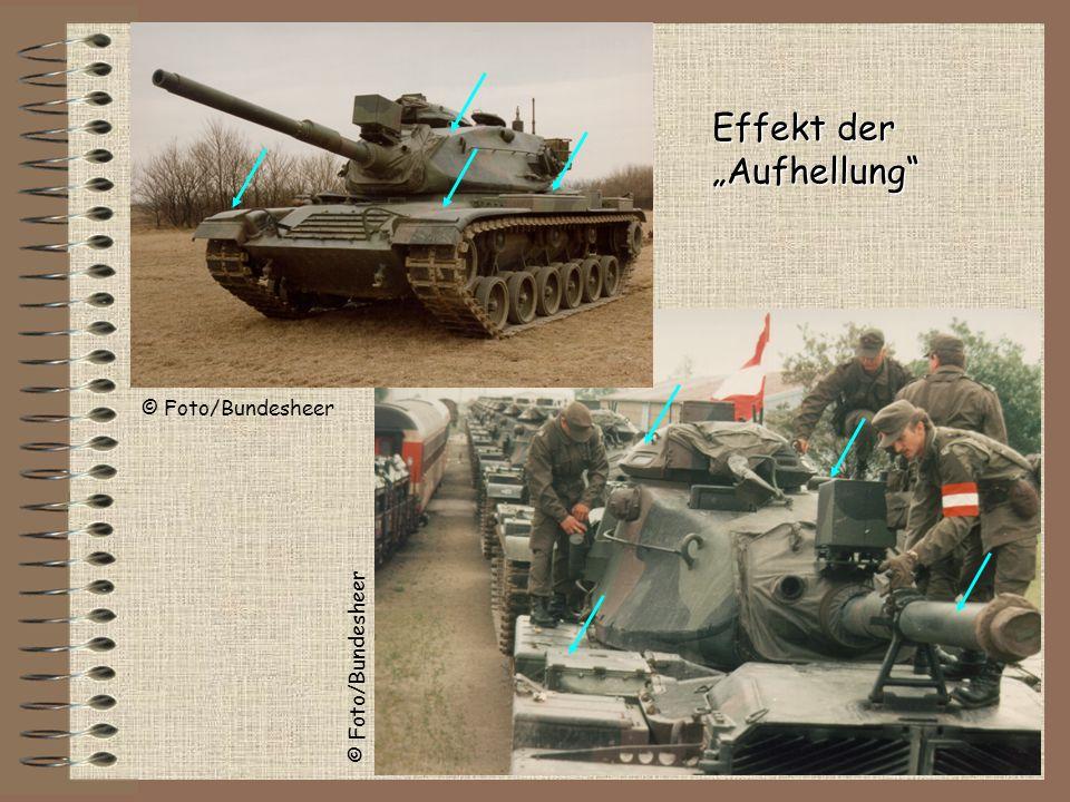 Effekt der Aufhellung © Foto/Bundesheer