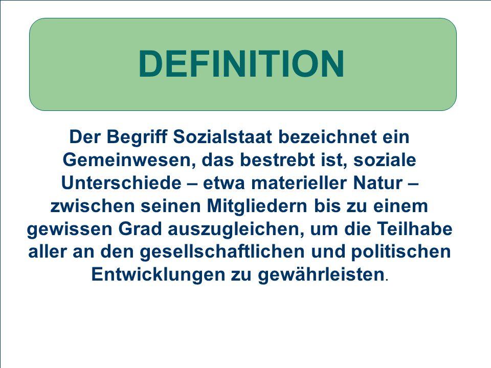 stagnierendes Wirtschaftswachstum, hohe Arbeitslosigkeit steigende Anzahl von Insolvenzen Europäisches Schlusslicht PROBLEMSTELLUNG Definition Sozialstaat Geschichte des Sozialstaat Die Probleme des deutschen Arbeitsmarktes