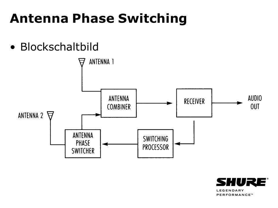 Antenna Phase Switching Blockschaltbild