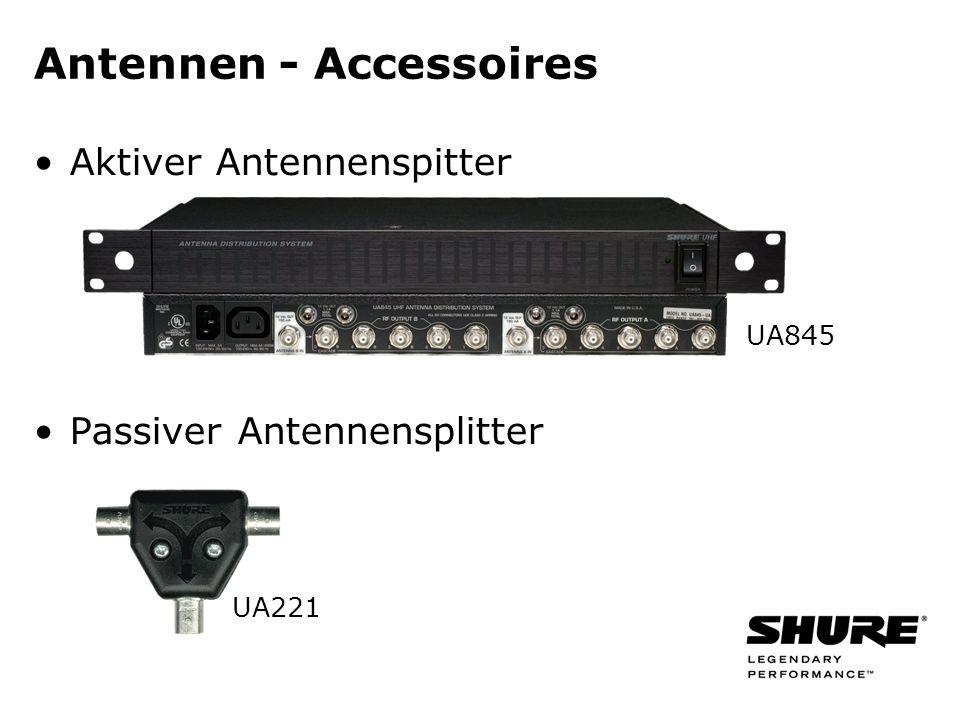 Aktiver Antennenspitter Passiver Antennensplitter Antennen - Accessoires UA845 UA221