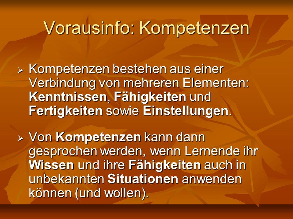 Formulierungen Lehrziel (präskriptiv, vorschreibend): Lehrziel (präskriptiv, vorschreibend): Die S/S sollen …kennen.