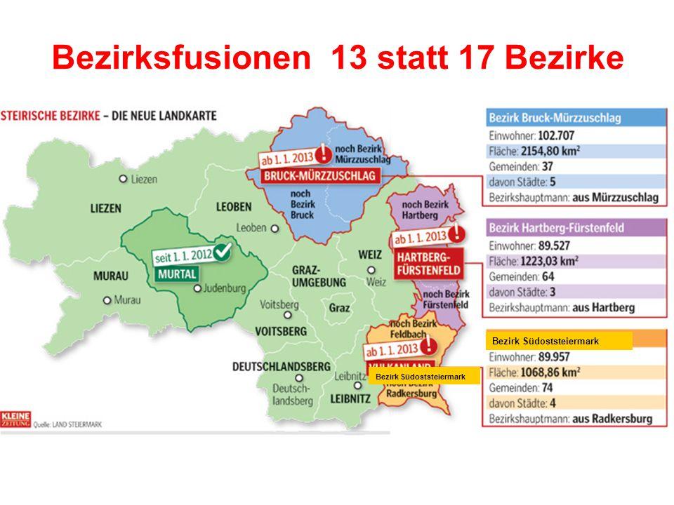 Gemeindestrukturreform aktuelle / bzw.