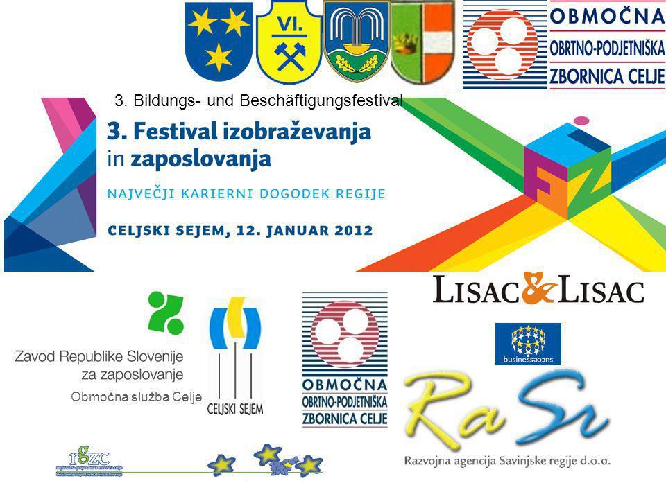 Območna služba Celje 3. Bildungs- und Beschäftigungsfestival