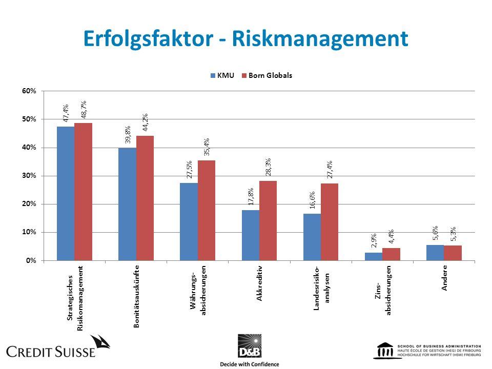 Erfolgsfaktor - Riskmanagement