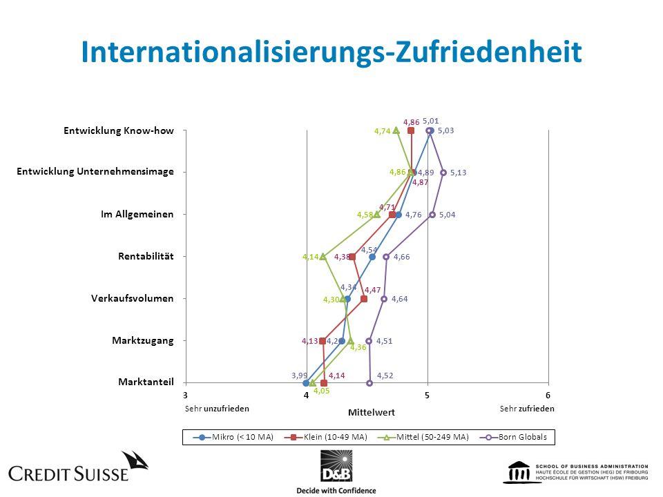 Internationalisierungs-Zufriedenheit