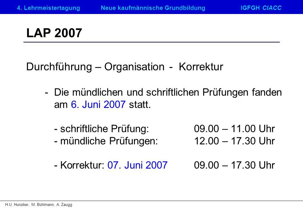 4. LehrmeistertagungNeue kaufmännische GrundbildungIGFGH CIACC H.U.
