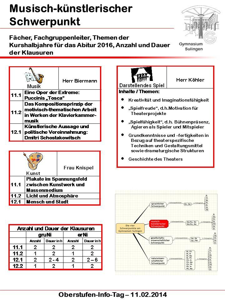 Musisch-künstlerischer Schwerpunkt Kunst Gymnasium Sulingen Oberstufen-Info-Tag – 11.02.2014 Plakate im Spannungsfeld zwischen Kunstwerk und Massenmedium H.Holbein d.J.: Der Kaufmann Gisze (1532) H.