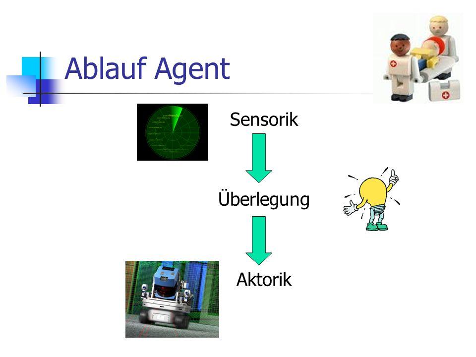 Ablauf Agent Sensorik Überlegung Aktorik