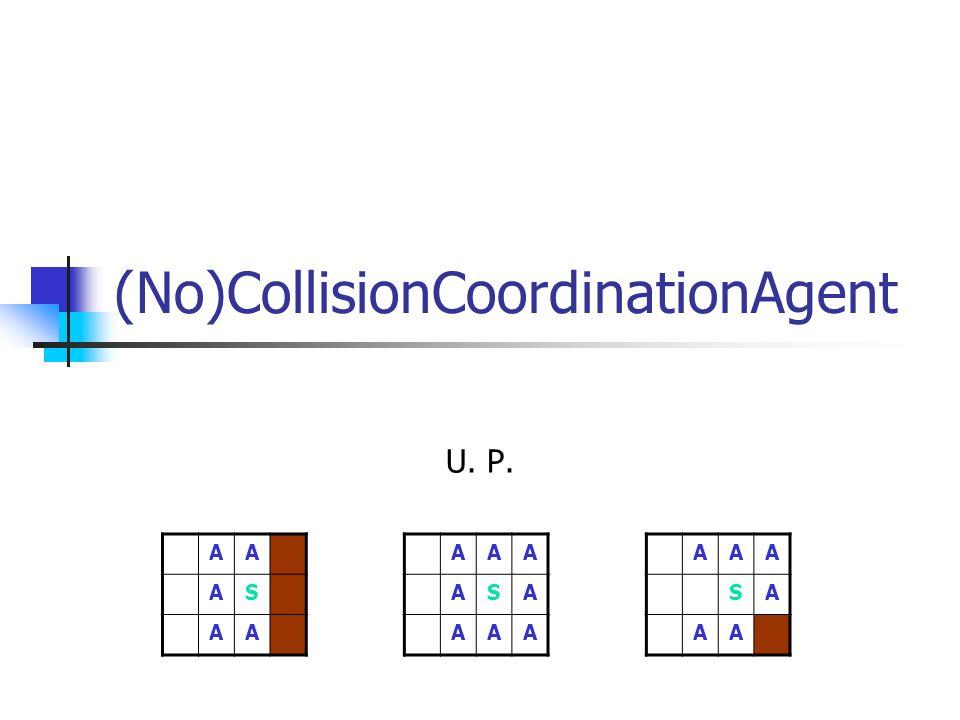 Ines Moosdorf, Christian Lange, Ulrike Plötner (No)CollisionCoordinationAgent U. P. AA AS AA AAA ASA AAA AAA SA AA