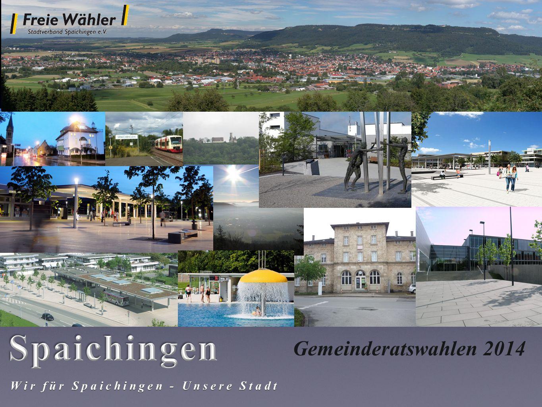 Wir für Spaichingen - Unsere Stadt Gemeinderatswahlen 2014
