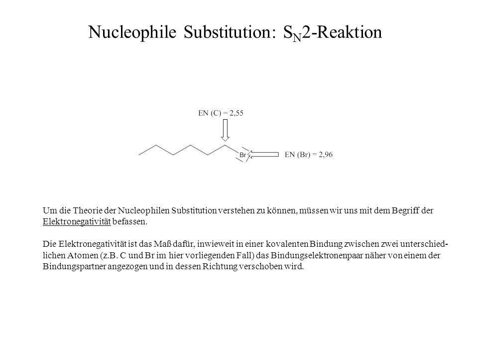Um die Theorie der Nucleophilen Substitution verstehen zu können, müssen wir uns mit dem Begriff der Elektronegativität befassen. Die Elektronegativit