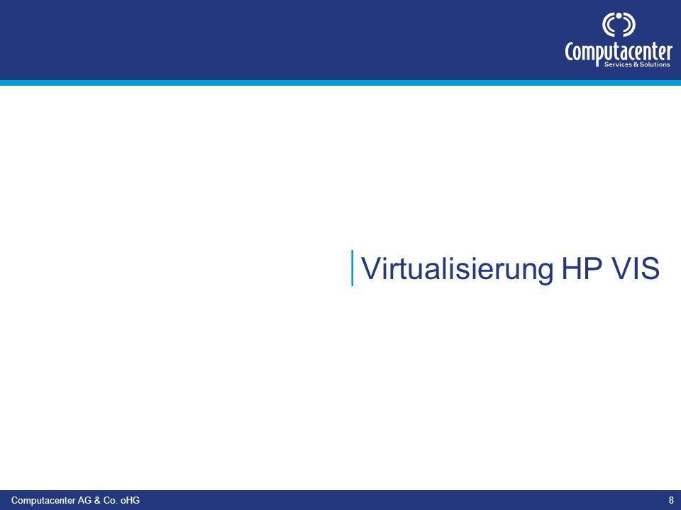 Computacenter AG & Co. oHG9 HP VIS Szenarien Monitoring Deployment Relocation von Systemen