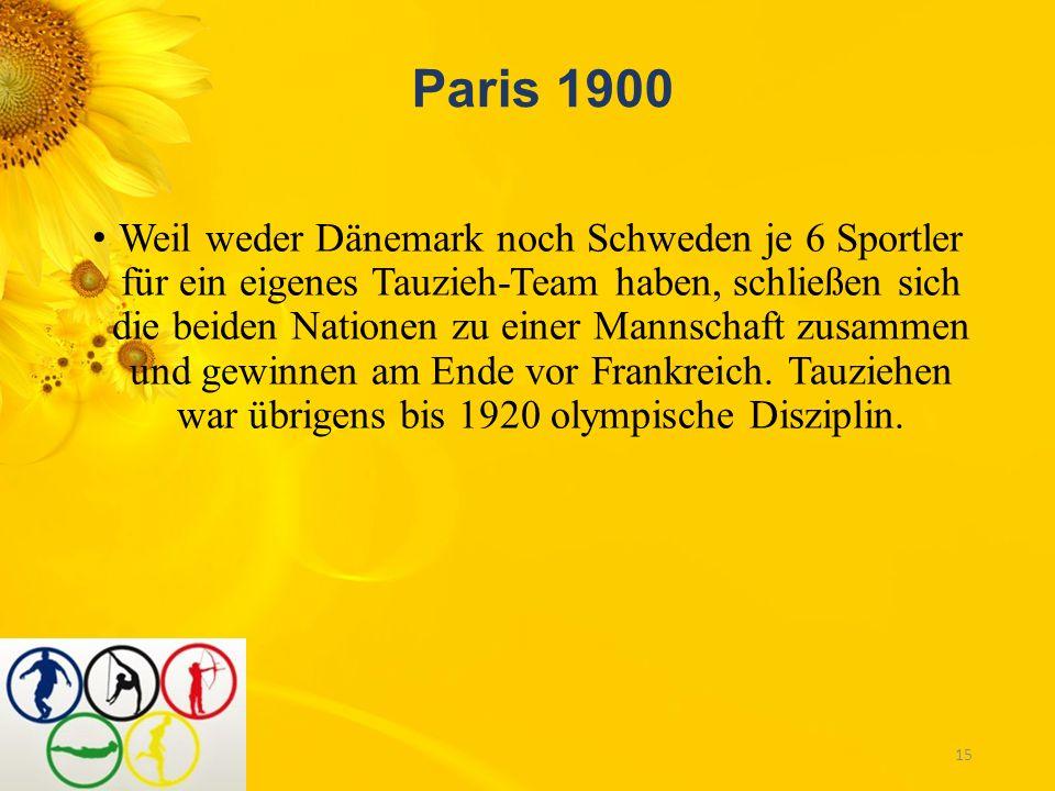 Das ist doch interessant! Kurioses und Wissenswertes von den Olympischen Spielen. Athen 1896 Auch bei den ersten Olympischen Spielen der Neuzeit gibt