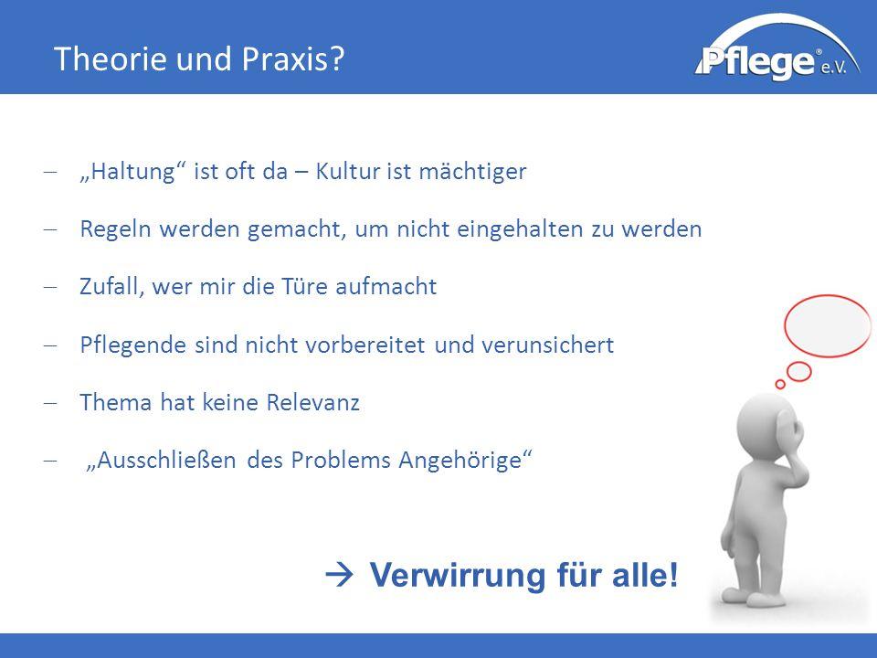 Theorie und Praxis.