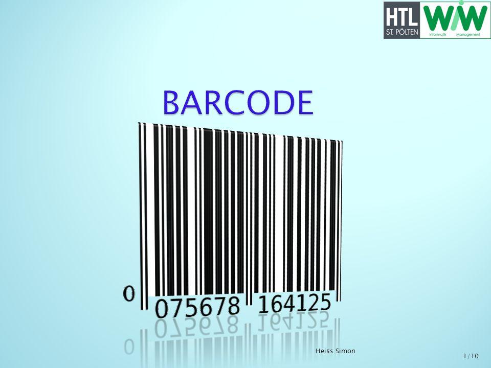 Barcode(Strichcode) ist eine Schrift welche mit einem Barcodelesegerät (Scanner) gelesen wird.