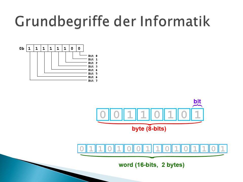 4.Datensatz – eine feste Anzahl von zusammengehörigen Daten z.B.