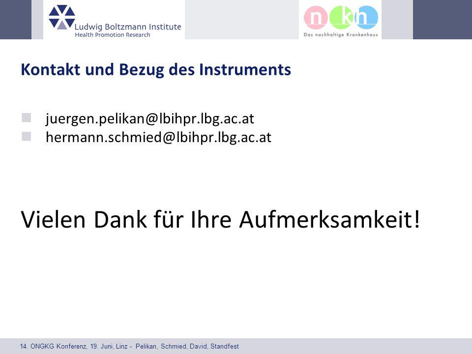 14. ONGKG Konferenz, 19. Juni, Linz - Pelikan, Schmied, David, Standfest Kontakt und Bezug des Instruments juergen.pelikan@lbihpr.lbg.ac.at hermann.sc