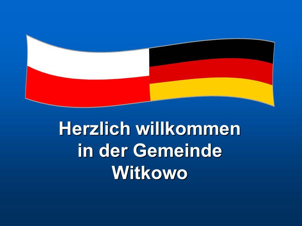 Herzlich willkommen in der Gemeinde Witkowo